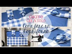 Come fare un copriforno ✂️ DIY Tutorial ✂️ How to make a oven cover Pebble Painting, Stone Painting, Making Fabric Flowers, Patchwork Bags, Felt Dolls, Diy Tutorial, Decoupage, Shabby Chic, Youtube
