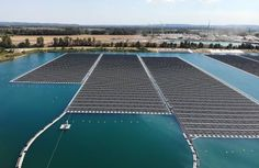 The largest floating solar park in Europe is connected to the grid in the Netherlands Installation Solaire, Water Cooling, Skyfall, Natural Energy, Thessaloniki, Rhone, Jakarta, Ecology, Solar Power