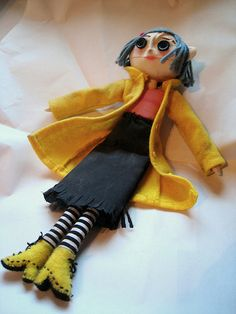 coraline- probably the only doll Magill would tolerate owning