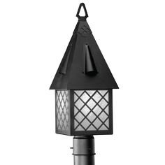 Vintage Porch Light Cottage Storybook Style Witches Hat Exterior ...