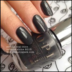 OPI Infinite Shine Strong Coalition Swatch 2015