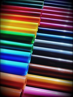 multicolor rainbow tubes