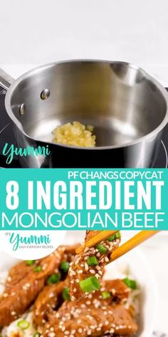 Asian Dinner Recipes, Sunday Recipes, Low Carb Dinner Recipes, Asian Recipes, Easy Recipes, Mongolian Beef Recipe Pf Changs, Mongolian Beef Recipes, Fried Beef, Recipes
