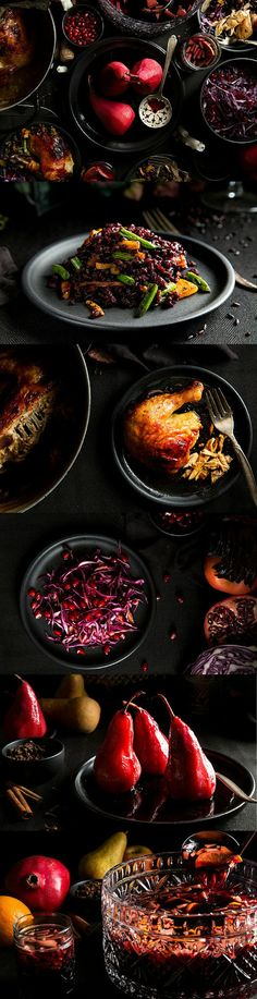 Throw a gothic dinner party for All Hallows' Eve | The ultimate recipes & menu for a dark & simply elegant Halloween dinner