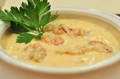 New Orleans Shrimp and Crab Soup