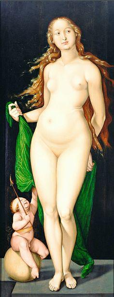 Hans Baldung Grien - Venus & Amor [1528]   Flickr - Petrus .Agricola