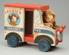 Fisher-Price Elsie's Dairy Truck.