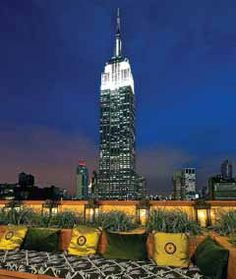 Tip- Top Tipples- rooftop bar and lounge 'Top of the Strand' in NYC  #rooftop #ny #nyc #where