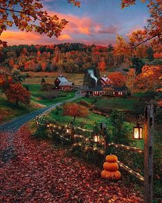 Scenery Fall Beautiful Places Landschaft Fallen Schöne Orte Paysages Tombent Beaux Endroits I Paesaggi Cadono Bellissimi Posti - Body Goals Tatoo Travel, Woodstock Vermont, New England Fall, Autumn Cozy, Autumn Fall, Autumn Leaves, Autumn Nature, Autumn Aesthetic, City Aesthetic