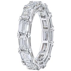 3 Carat Diamond, Eternity Ring Diamond, Emerald Cut Diamonds, Diamond Wedding Rings, Eternity Bands, Diamond Bands, Diamond Cuts, Wedding Bands, Thing 1