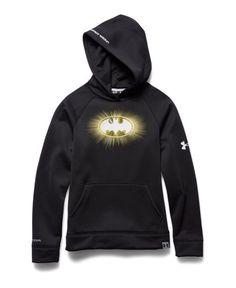 Batman Under Armour Hoodie - Glow in the dark Logo