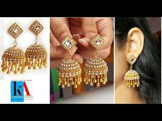 Making of Designer Silk Thread Bridal Jhumka Earrings at home Silk Thread Bangles Design, Silk Thread Necklace, Thread Jewellery, Beaded Jewelry Patterns, Beading Jewelry, Jewelry Making Tutorials, Jewellery Making, Jewelry Crafts, Handmade Jewelry