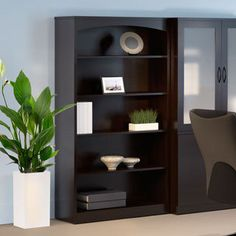 Shop for Mayline Brighton Series 5-shelf Mocha Bookcase. Get free delivery at Overstock.com - Your Online Office Furniture Store! Get…