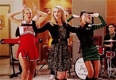 Brittany And Santana, Quinn Fabray, Glee Club, Cheer Skirts, Tv Shows, Fandoms, Relationship, High School, Writing