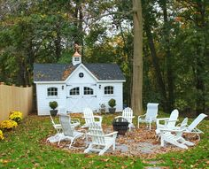 12'x16' Victorian Shed with Vinyl Siding, Carriage House Doors, Arched Wood Windows, Cupola and Weathervane http://www.backyardunlimited.com/sheds.php