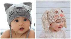 Resultado de imagen para gorros tejidos a crochet para bebe