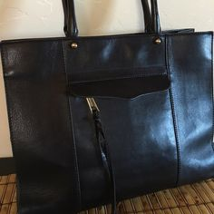 Rebecca Minkoff MAB tote $125 OBO Beautiful leather tote, pre loved but in great condition Rebecca Minkoff Bags Totes