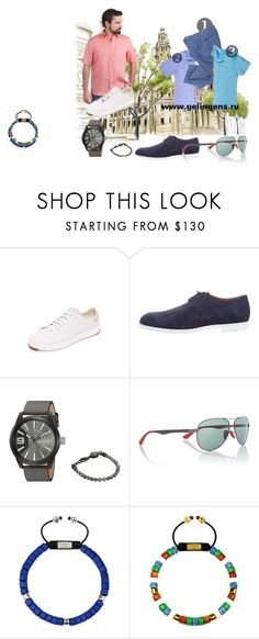 """Лен forever"" by ggelingen on Polyvore featuring Cole Haan, Jimmy Choo, Diesel, Ray-Ban, men's fashion и menswear"