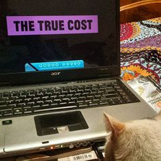 The True Cost is a documentary film that explores the impact of fashion on people and the planet. The price of clothing has been decreasing for decades while the human and environmental costs have grown dramatically. Water Footprint, True Cost, Documentary Film, Fast Fashion, Reuse, Documentaries, Recycling, Explore, Photo And Video