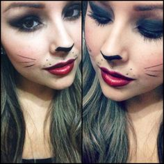 Katze Make-up in letzter Minute