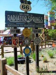 Radiator Springs....Can't wait to go!!!