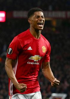 Photo: Marcus rashford Though Mourinho has trusted the youngster with starts against Derby County and Yeovil Town in the FA Cup, it. Fan Fiction, Yeovil Town, Marcus Rashford, Derby County, Romance, Football, Fa Cup, Soccer Players, Manchester United