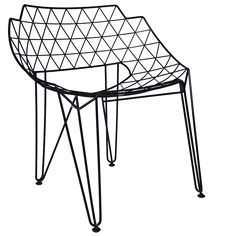 Apollo Wire Dining Chair | Matt Blatt