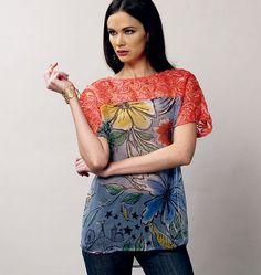 Pattern Reviews> Vogue Patterns> 8877 (Misses Top)