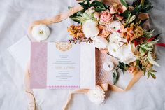 A Neutral Wedding Design with Serious Style!   Friar Tux Two Piece Gown, Romantic Moments, Bride Look, Creative Studio, Bold Colors, Wedding Designs, Invitations, Invite, Bridal Gowns