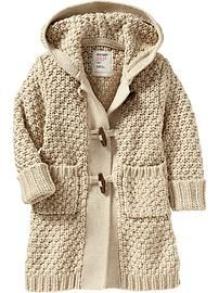 Zip-Up Fleece Jacket | Baby cardigan Girls and So cute