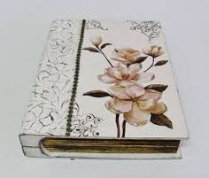 Resultado de imagem para caixa livro decorada em mdf
