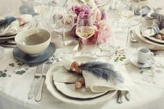 love this Marie Antionette inspired table set up