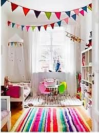 I love this - bright and colourful!  fun playroom wallpaper - Google Search