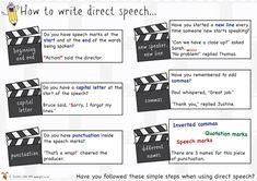 speech marks in writing ks2
