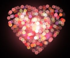 Create an Amazing Colorful Heart using Photoshop Bokeh Tutorial, Photoshop Tutorial, Nepal, Bokeh Images, Heart Bokeh, Heart In Nature, Bokeh Photography, Bokeh Background, I Love Heart