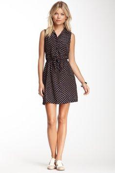 Sleeveless Lace Knit Dress