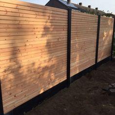 Backyard Patio, Backyard Landscaping, Little Green House, Cedar Fence, Interior Garden, Outdoor Living, Outdoor Decor, Fence Design, Go Outside