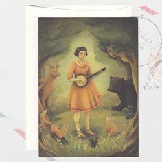 Tarjeta Banjo Recital