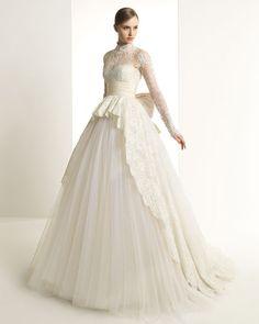 a74e7d6f07cb285 Кружевные свадебные платья Rosa Clara, Современная Классика, Вечерние Платья,  Идеи, Индийская Мода