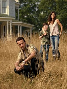"""""""I'm just a man looking for his wife and son. Anyone who gets in the way is going to lose."""" - Rick Grimes"""