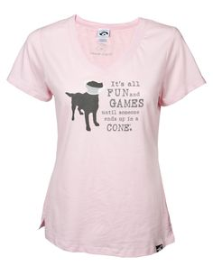 Share and get a code to save 10% storewide! It's All Fun and Games Women's Tee! #dogisgood