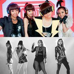 #NEVERSAYGOODBYE2NE1   Forever QUEENS! 💖 #2NE1 #Dara #Minzy #CL #ParkBom #Bom #kpop
