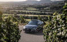 Lataa kuva Audi RS5 Coupe, tuning, tie, 2018 autoja, uusi RS5, saksan autoja, Audi