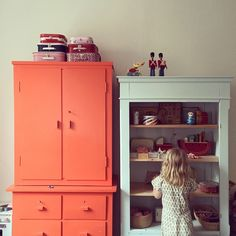 * s u n d a y * #kidsroom #newhome ... kids rooms are a wonderful place for playful painted furniture