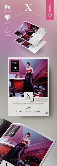 #Fashion #Flyer - Flyers #Print Templates