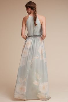 Mist/blush Alana Dress | BHLDN