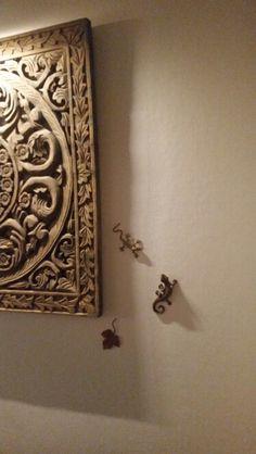 Reptils Decor, Wall Lights, Door Handles, Candles, Candle Sconces, Wall, Home Decor, Light