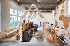 """For fans of the outdoors: Hotel guests and visitors can buy outdoor-products at """"Weltevree"""", photo © Thijs Wolzak"""