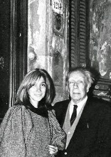 Borges todo el año: Jorge Luis Borges: Laprida 1214  María Kodama y Borges en el Museo Xul Solar (Laprida 1214) 1984 Colección María Kodama - Fundación Jorge Luis Borges. Incluida en Atlas