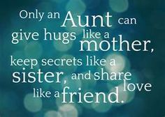 Only an Aunt, i love my auntie so much! & love being an auntie so much!